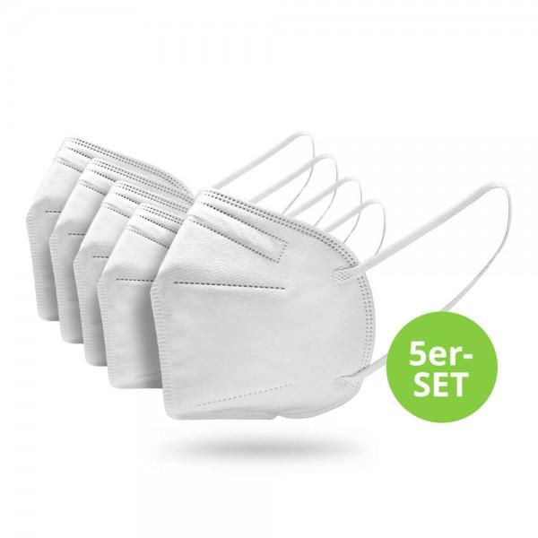 Premium FFP2-Maske, 5 Stück