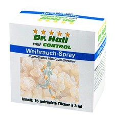 Weihrauch-Spray getränkte Tücher
