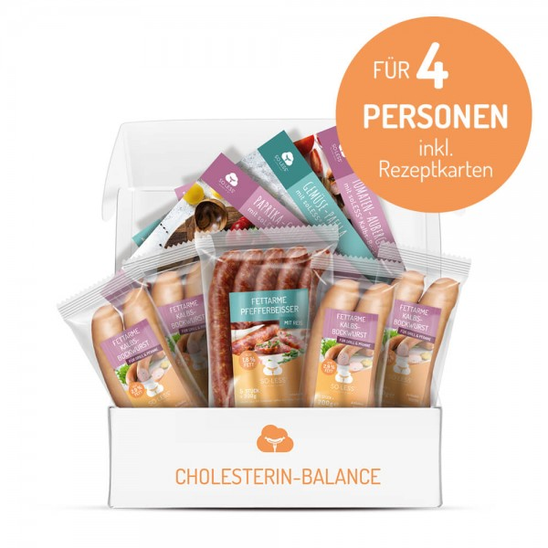 CHOLESTERIN-BALANCE-BOX (4 Personen)
