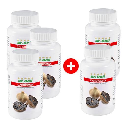 Cardiomax, 3 x 60 Kapseln + 2 x 60 Kapseln gratis