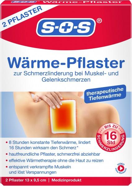 SOS Wärme-Pflaster, 2 Stück