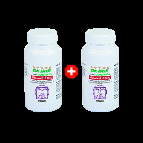 Vitamin B12, 2 x 30 Kapseln