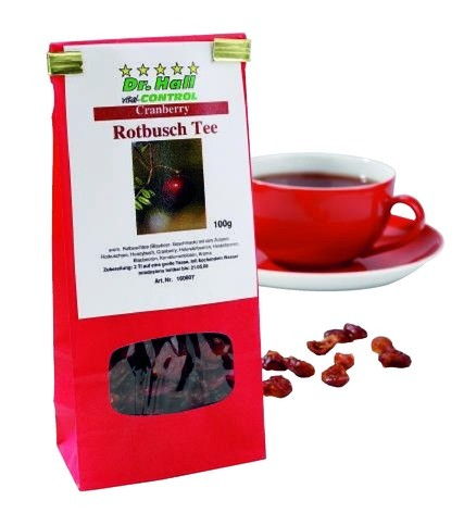 Cranberry Rotbusch Tee, 100 g