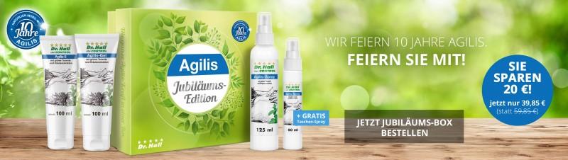 Agilis Jubiläums-Box