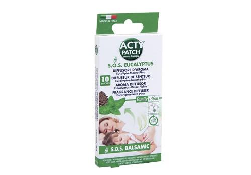 Eukalyptus Aroma-Patch - 10 Pflaster - erleichtert die Atmung