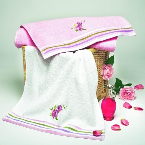 """Handtuch-Set """"Fleur"""", 2tlg."""