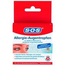 SOS Allergie-Augentropfen, 10 x 0,5 ml
