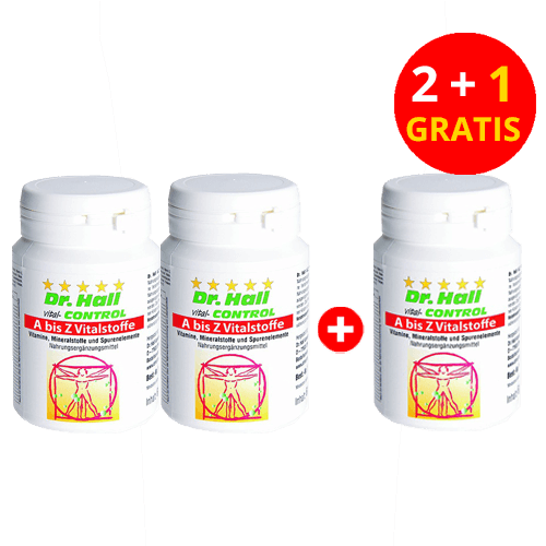 A bis Z Vitalstoffe, 2 x 30 Kapseln + 1 x 30 Kapseln gratis