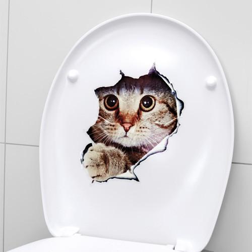 """Toiletten-Sticker """"Kätzchen"""""""
