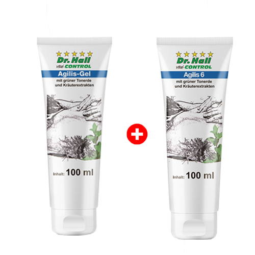 Agilis-Gel, 100 ml + Agilis 6, 100 ml