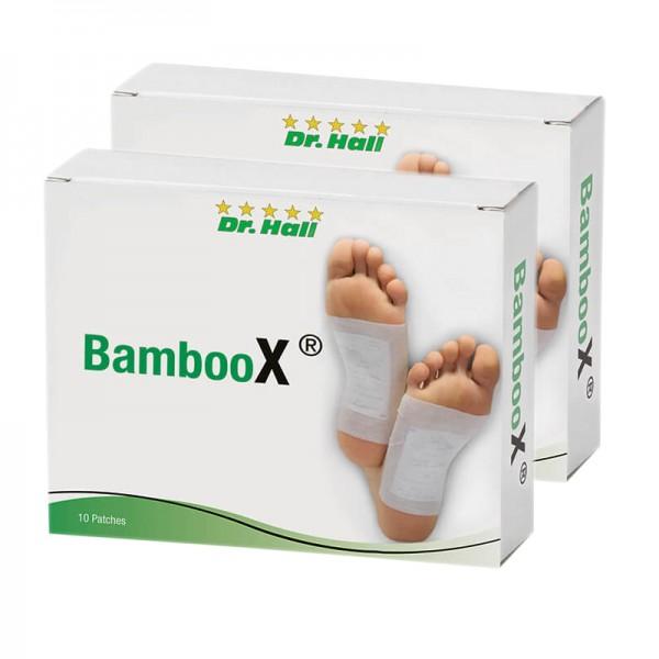 BambooX® Patches, 2 x 10 Stück