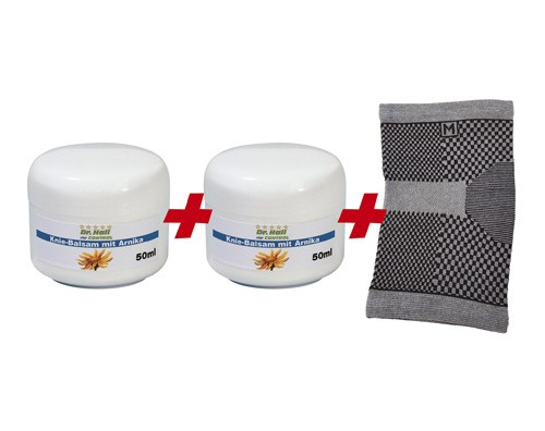 Knie Fit Set mit Knie-Bandage Gr. XL