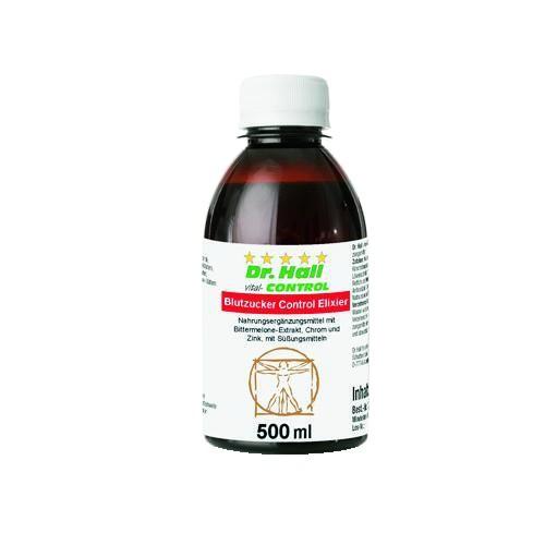 Blutzucker Control Elixier, 500 ml