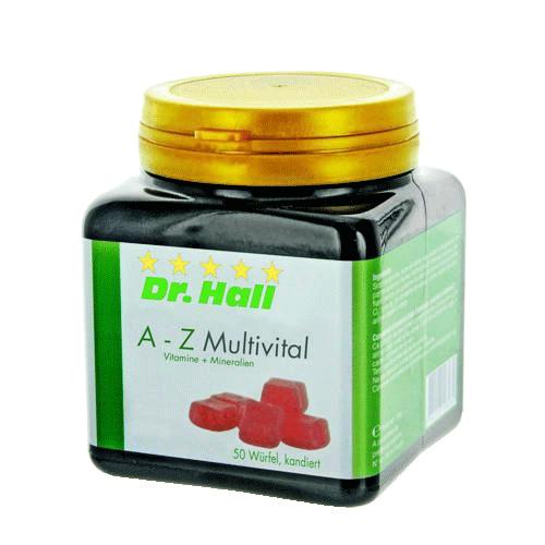 A-Z Multivital Vitamine + Mineralstoffe, 50 Würfel