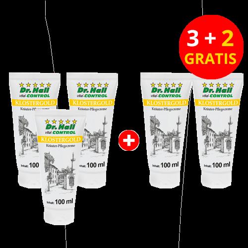 KLOSTERGOLD Balsam, 3 x 100 ml + 2 x 100 ml gratis