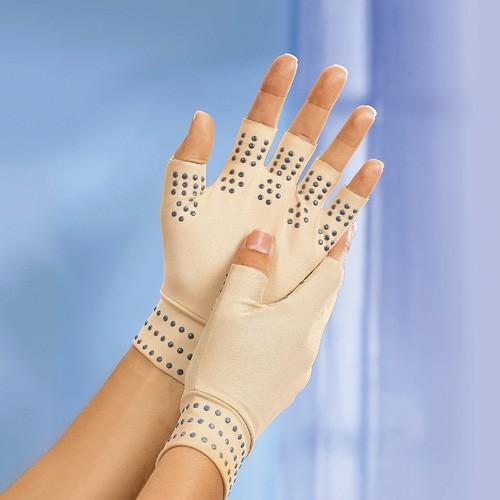 Therapie-Handschuhe, beige