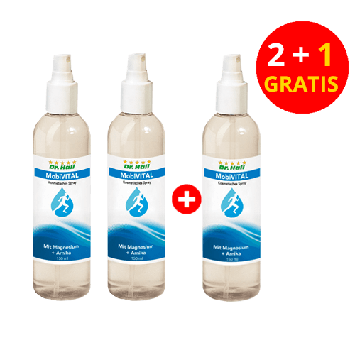 MobiVITAL-Spray, 2 x 150 ml + 1 x 150 ml gratis