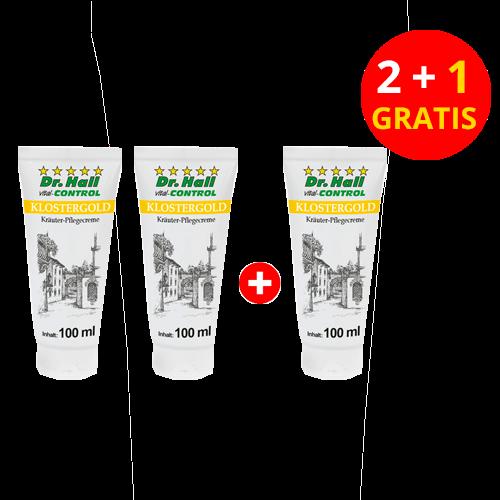 KLOSTERGOLD Balsam, 2 x 100 ml + 1 x 100 ml gratis