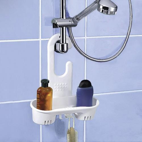 Duschkorb mit Haken