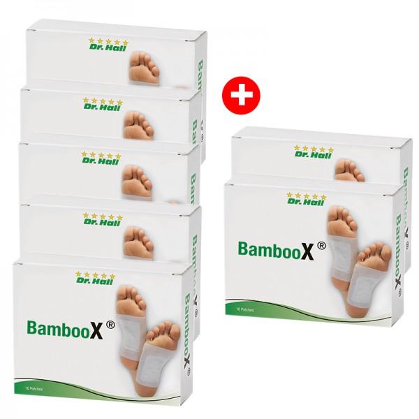 BambooX® Patches, 50 Stück + 20 gratis
