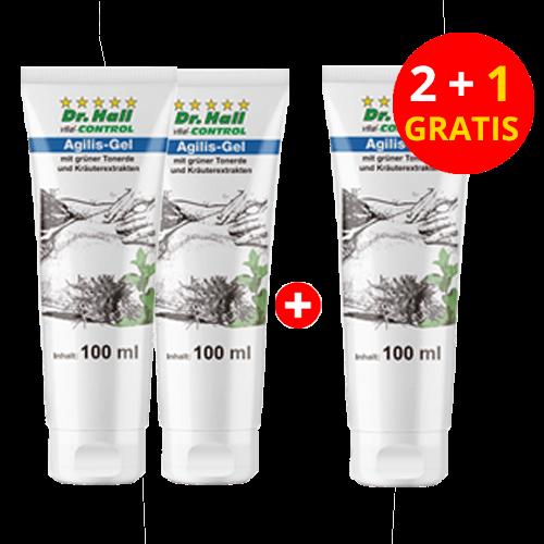 Agilis-Gel, 2 x 100 ml + 1 x 100 ml gratis