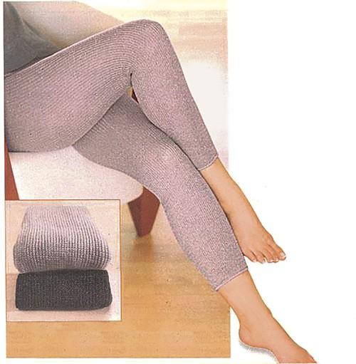 270068 Beine- und Unterleibwärmer, grau