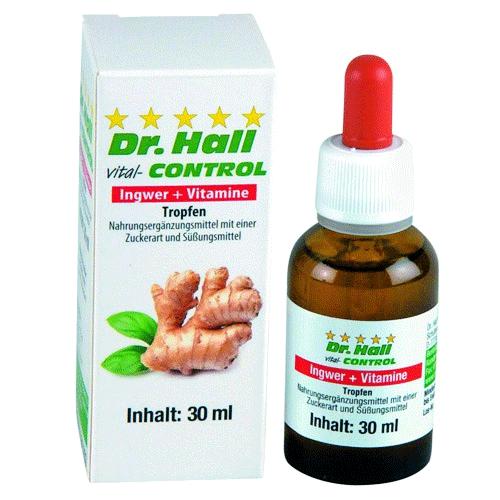 Ingwer + Vitamine Tropfen