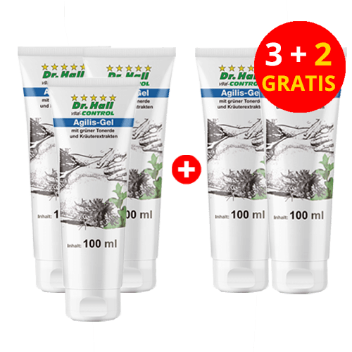 Agilis-Gel, 3 x 100 ml + 2 x 100 ml gratis
