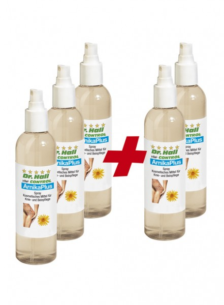 ArnikaPlus Spray, 3 x 250 ml + 2 x 250 ml gratis