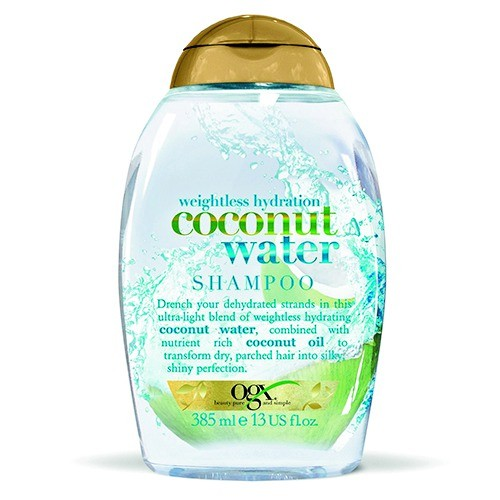 OGX Shampoo Coconut Water weightless hydration, 385 ml