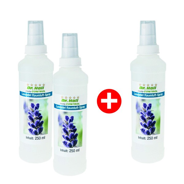 Lavendel Raumluft Spray 2 x 250 ml + 1 x 250 ml gratis