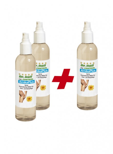 ArnikaPlus Spray, 2 x 250 ml + 1 x 250 ml gratis